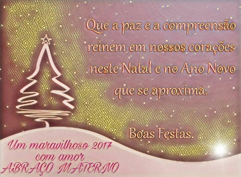 Feliz natal e bem vindo 2017!!!